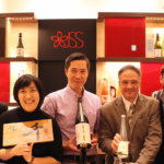 An evening with a sake brewer and friends in Tokyo
