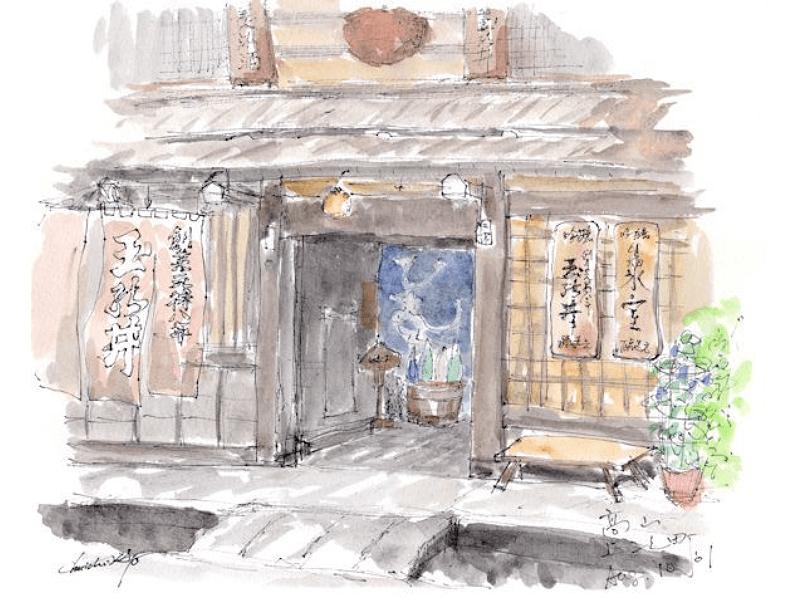 Niki Brewery, in Takayama , Gifu prefecture