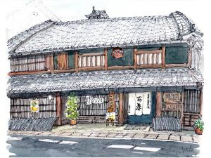 Kosaka brewery, in Gifu Prefecture