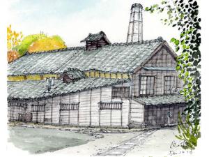 Tomo Sake Brewery in Ibaraki Prefecture
