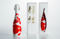 Bottle Design Featuring Multicolored Carp Receives 2018 GERMAN DESIGN AWARD