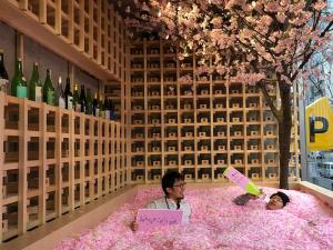 Saga Prefecture's Sakura Chill Bar Comes to Tokyo
