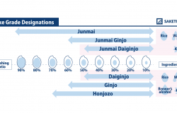 infographic of daiginjo
