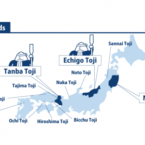 infographic of toji guilds