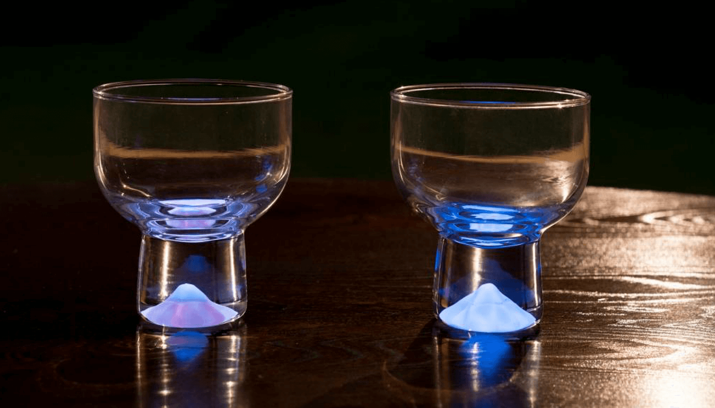"The Moonlight Glass is the world's first to use a unique ""bright-in-the-dark"" technology."