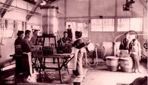 Bottling Factory in 1909