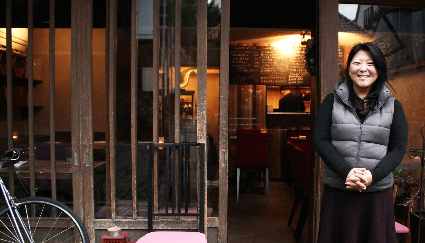 KIRAZ restaurateur Kana Mamiya