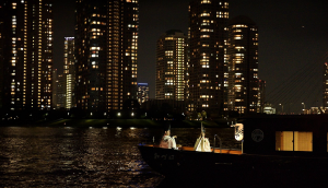 Autumn Brings Night Cruises featuring traditional Japan art and performance to Tokyo by Hoshinoya Tokyo