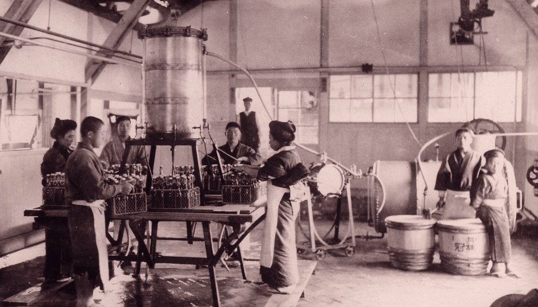 Bottling Factory in 1909
