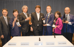 A new line of sake is shooting for the stars - and only the stars - as the sole purpose of their creation is to be sold through restaurants that have earned the Michelin restaurant guide's highest level of recognition - three stars.