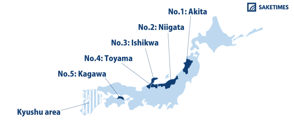 "Akita Prefecture Dubbed ""Booziest"" by Major Online Retailer"