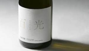 百光 -Byakko-, SAKE100's flagship label. A limited run for crowdfunding backers met its funding goal in just three hours.