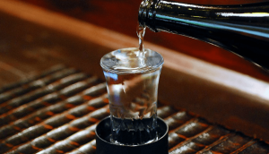 rice wine or sake or nihonshu