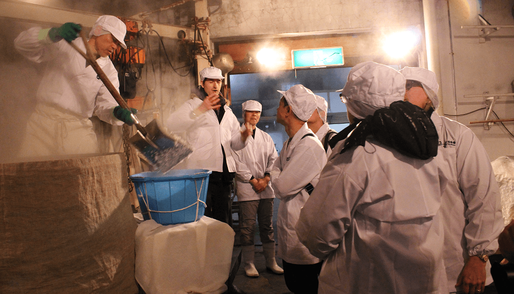 enjoy sake brewery tour