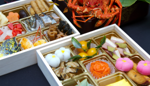 An osechi is very beautiful