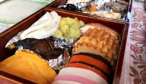 Osechi, the meal for new year'a day in Japan