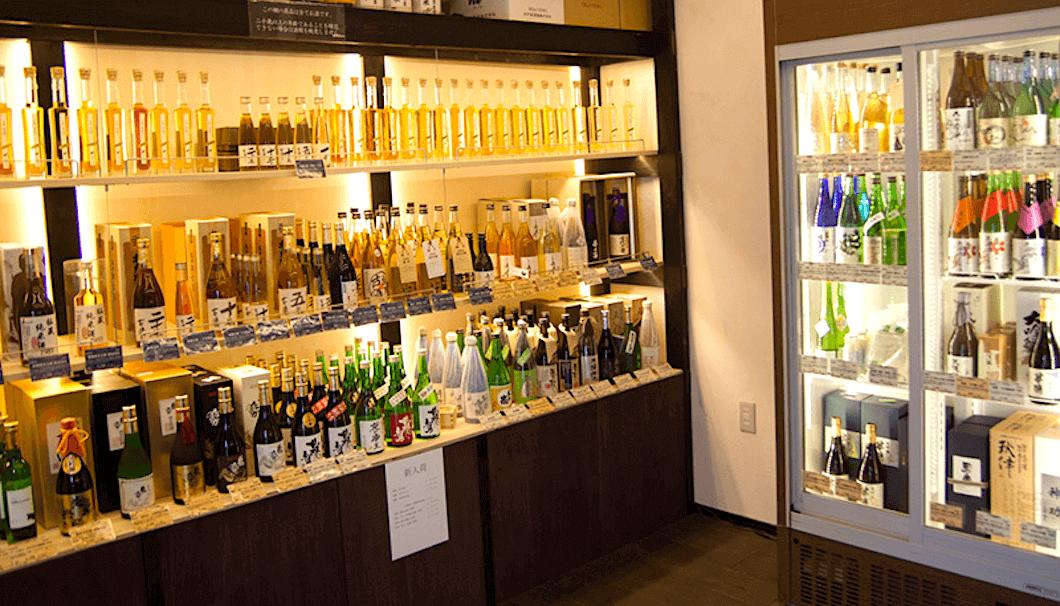 Inishie Sake Store Sheds Light on Aged Sake