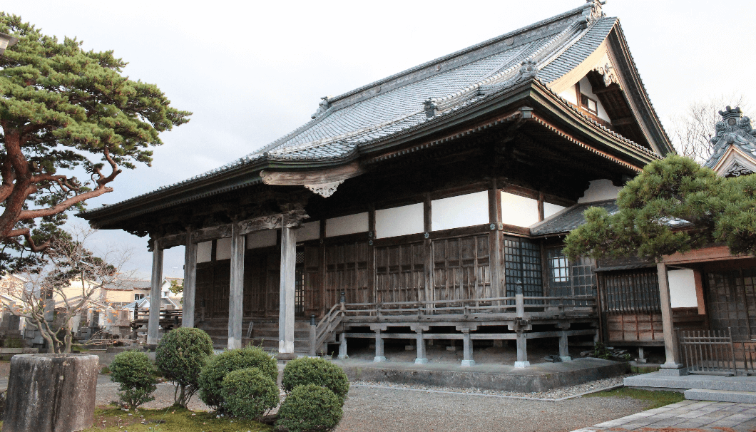exterior of Buddhist temple Chotokuji