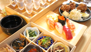 Obanzai traditional Kyoto cooking pairs wonderfully with just about any sake